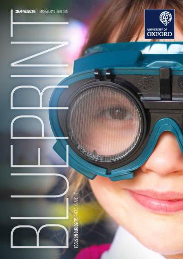 Curiosity carnival the feedback digital education cover of blueprint magazine michaelmas 2017 with a young school student wearing goggles to obscure her malvernweather Gallery